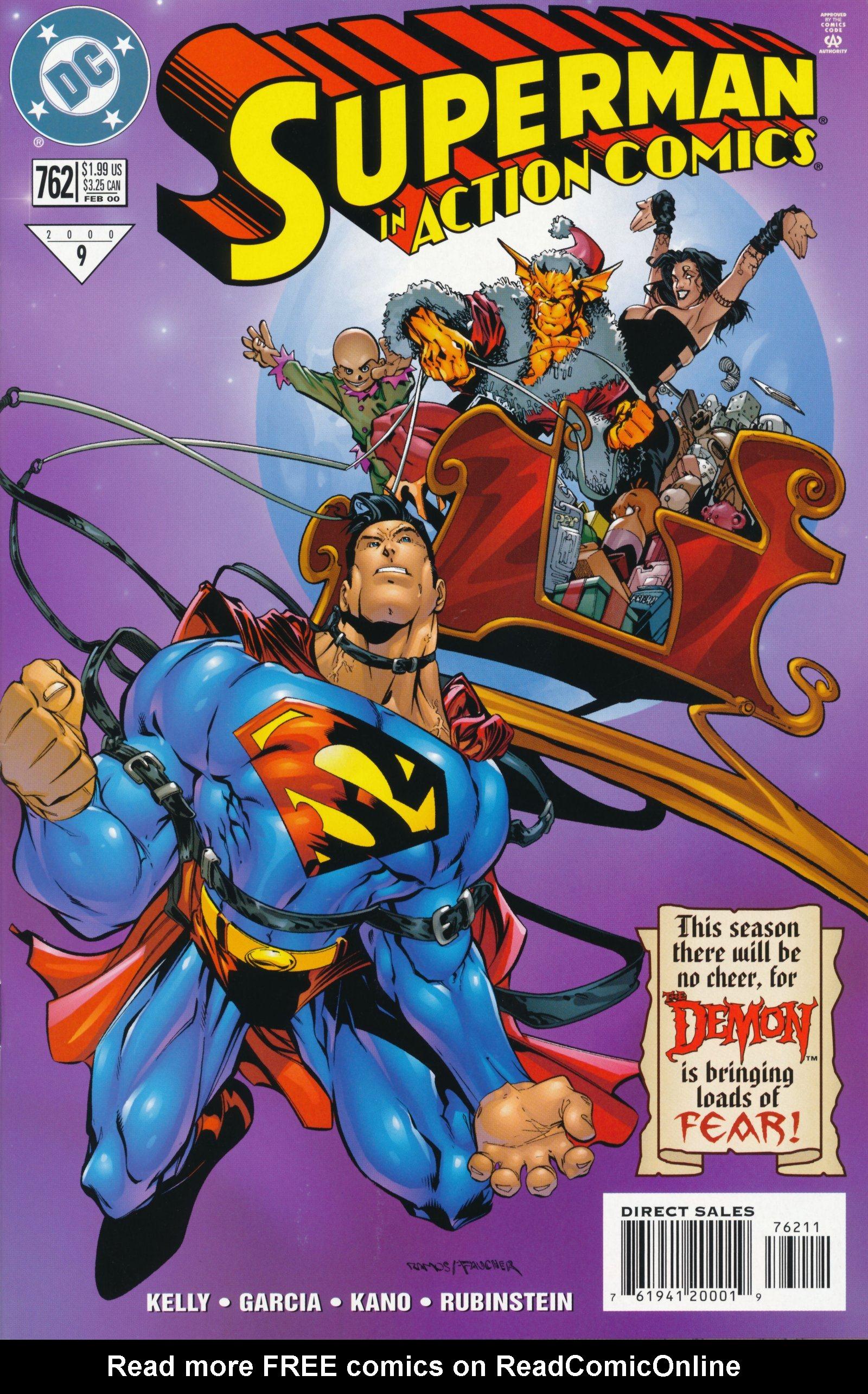 Action Comics (1938) 762 Page 1