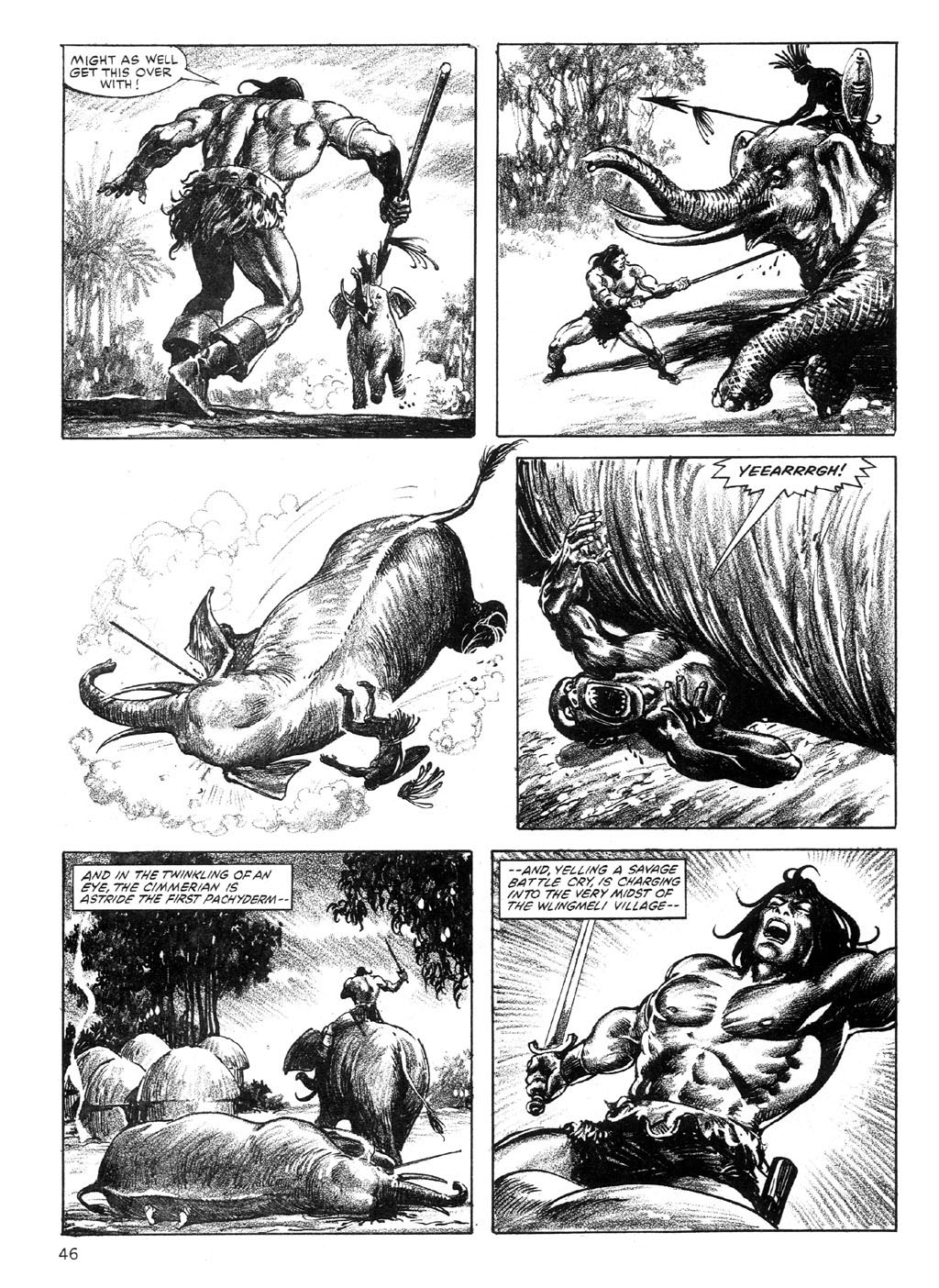 The Savage Sword Of Conan Issue #89 #90 - English 45