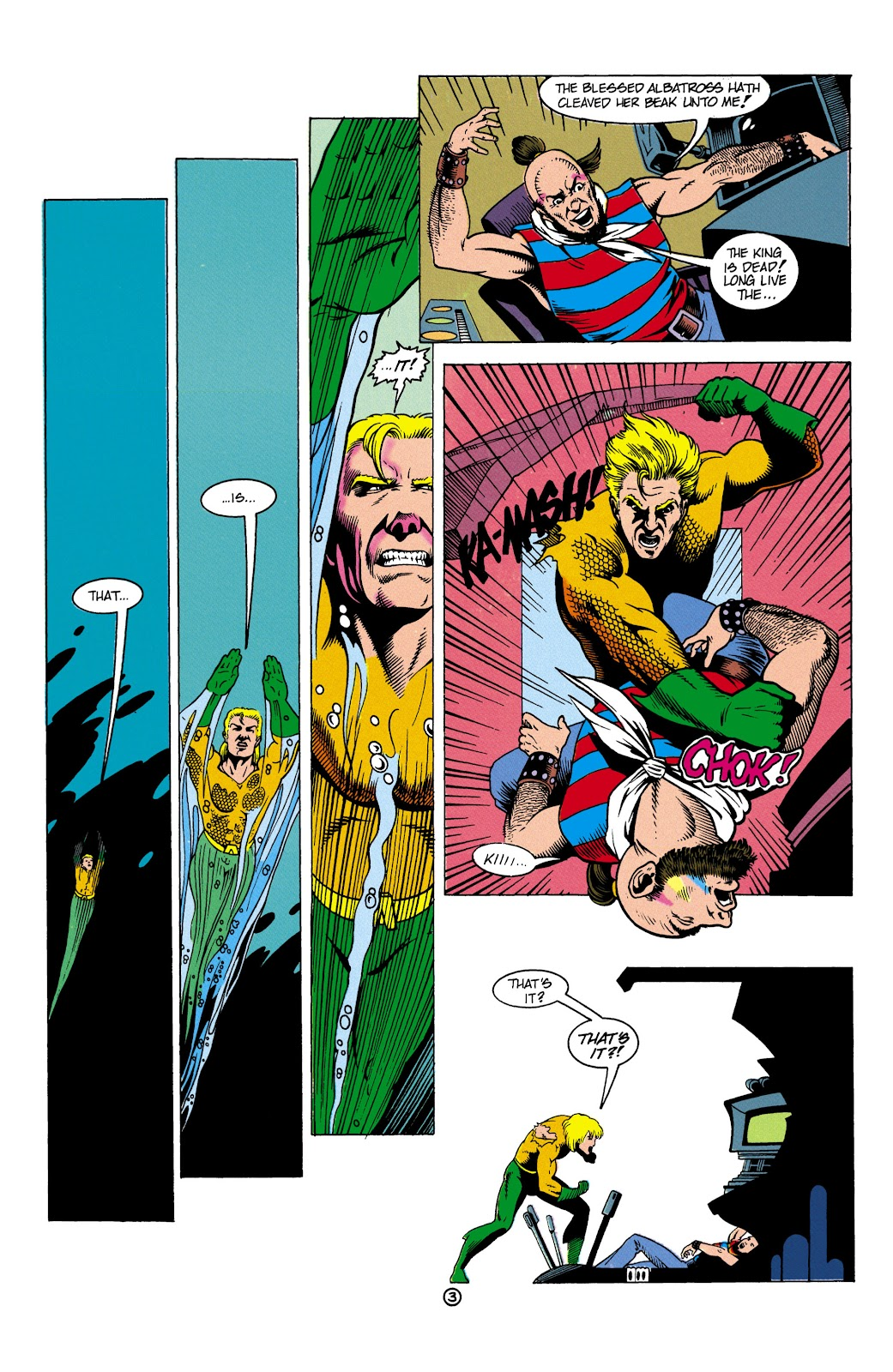 Aquaman (1991) Issue #5 #5 - English 4