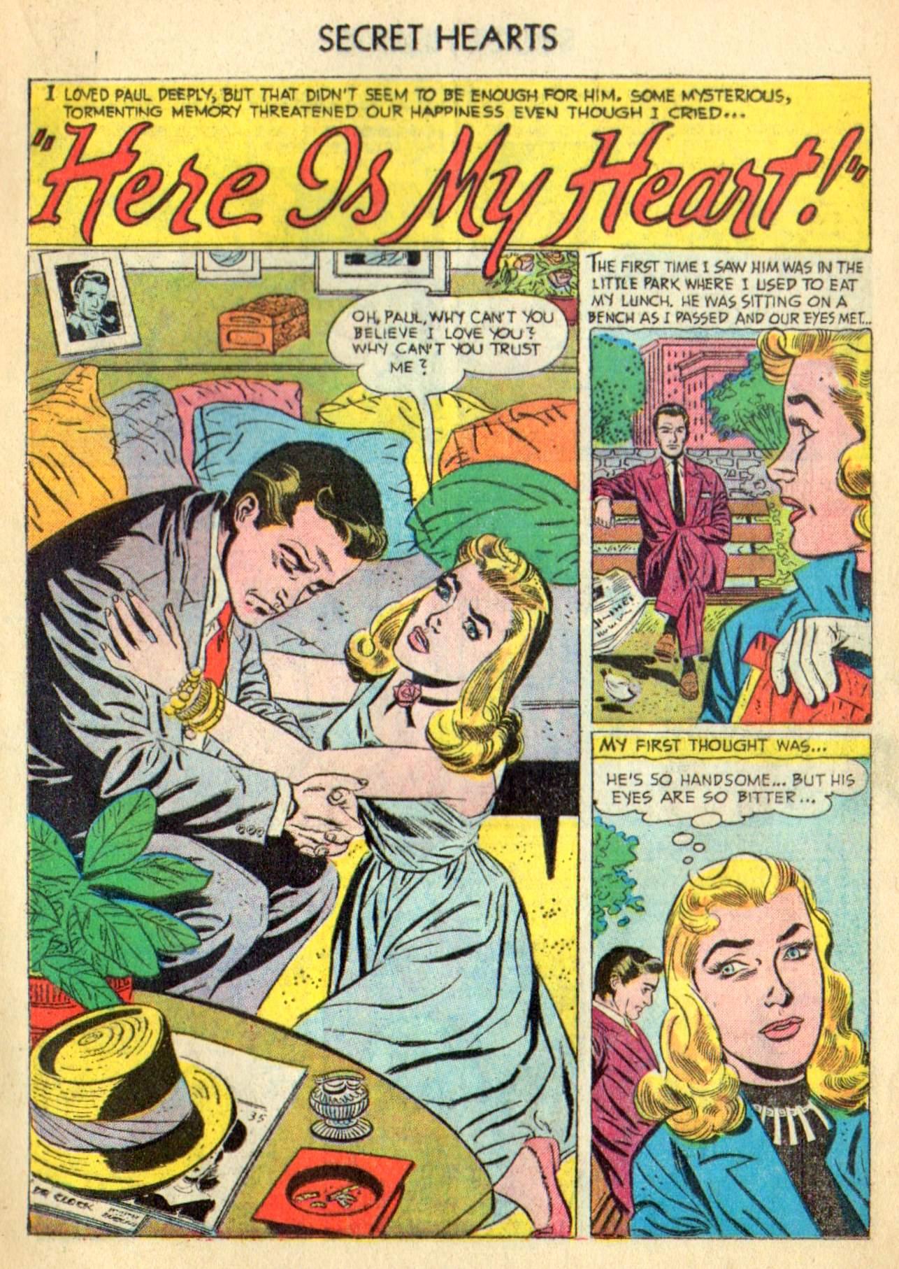 Read online Secret Hearts comic -  Issue #31 - 17