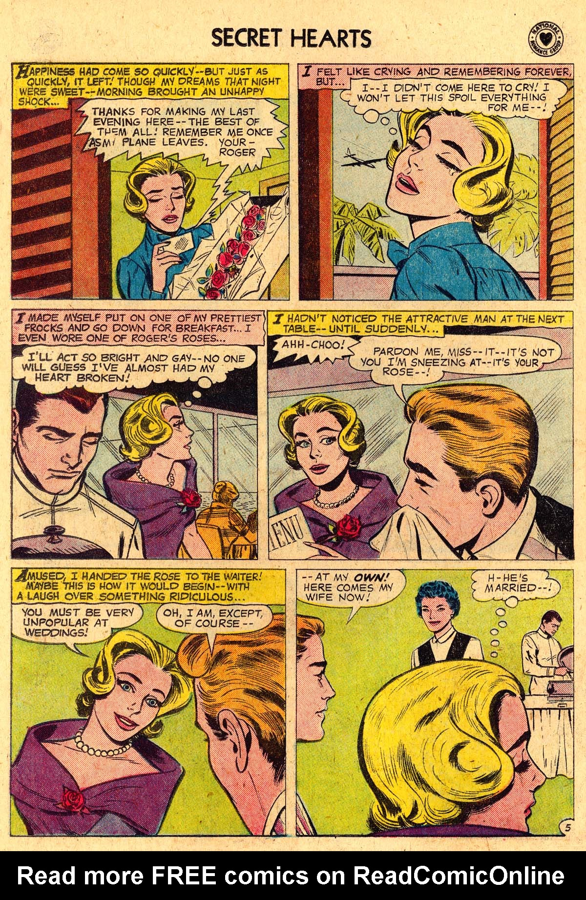 Read online Secret Hearts comic -  Issue #57 - 14
