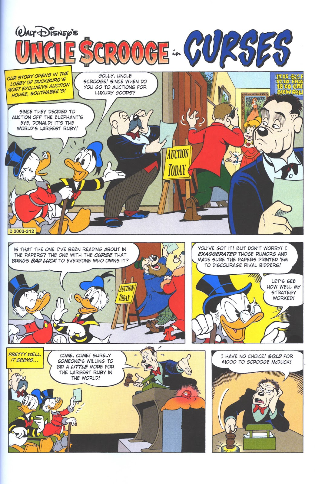 Uncle Scrooge (1953) Issue #375 #375 - English 25