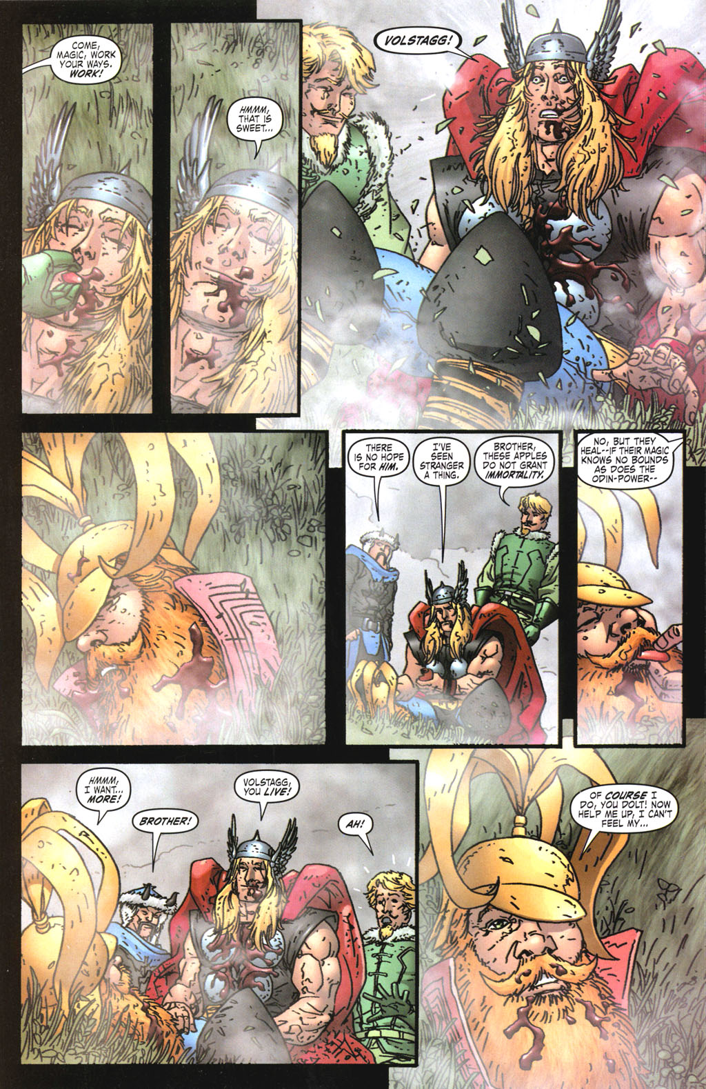 Read online Thor: Blood Oath comic -  Issue #5 - 12