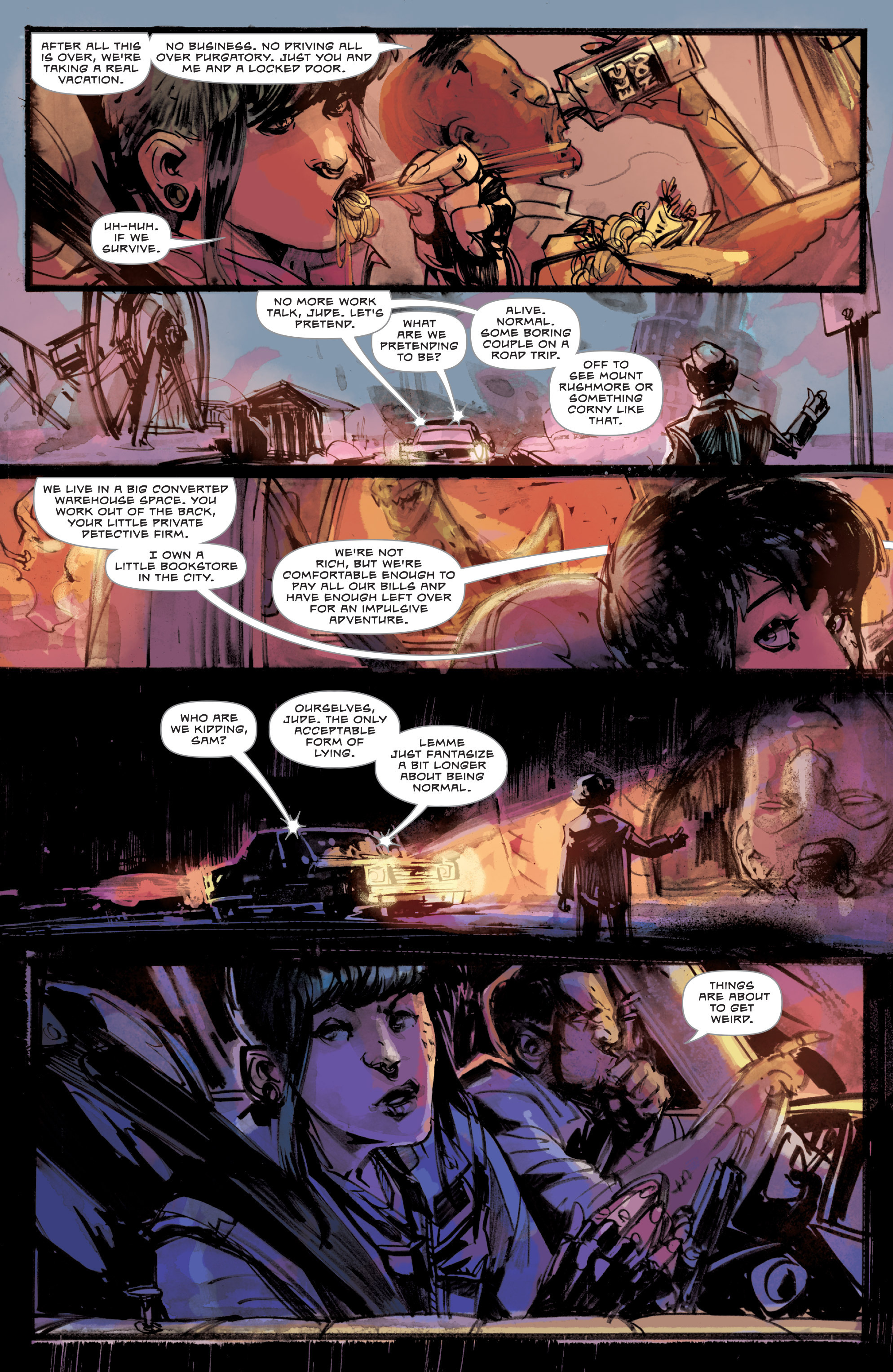 Read online Dead Letters comic -  Issue #11 - 4