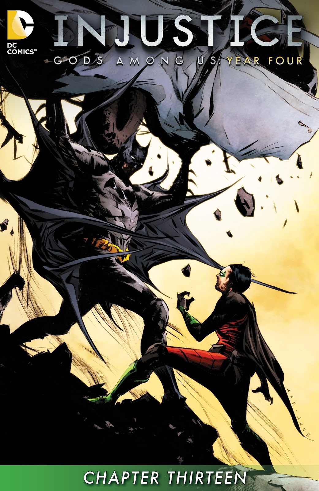 Injustice: Gods Among Us Year Four Issue #13 #14 - English 2
