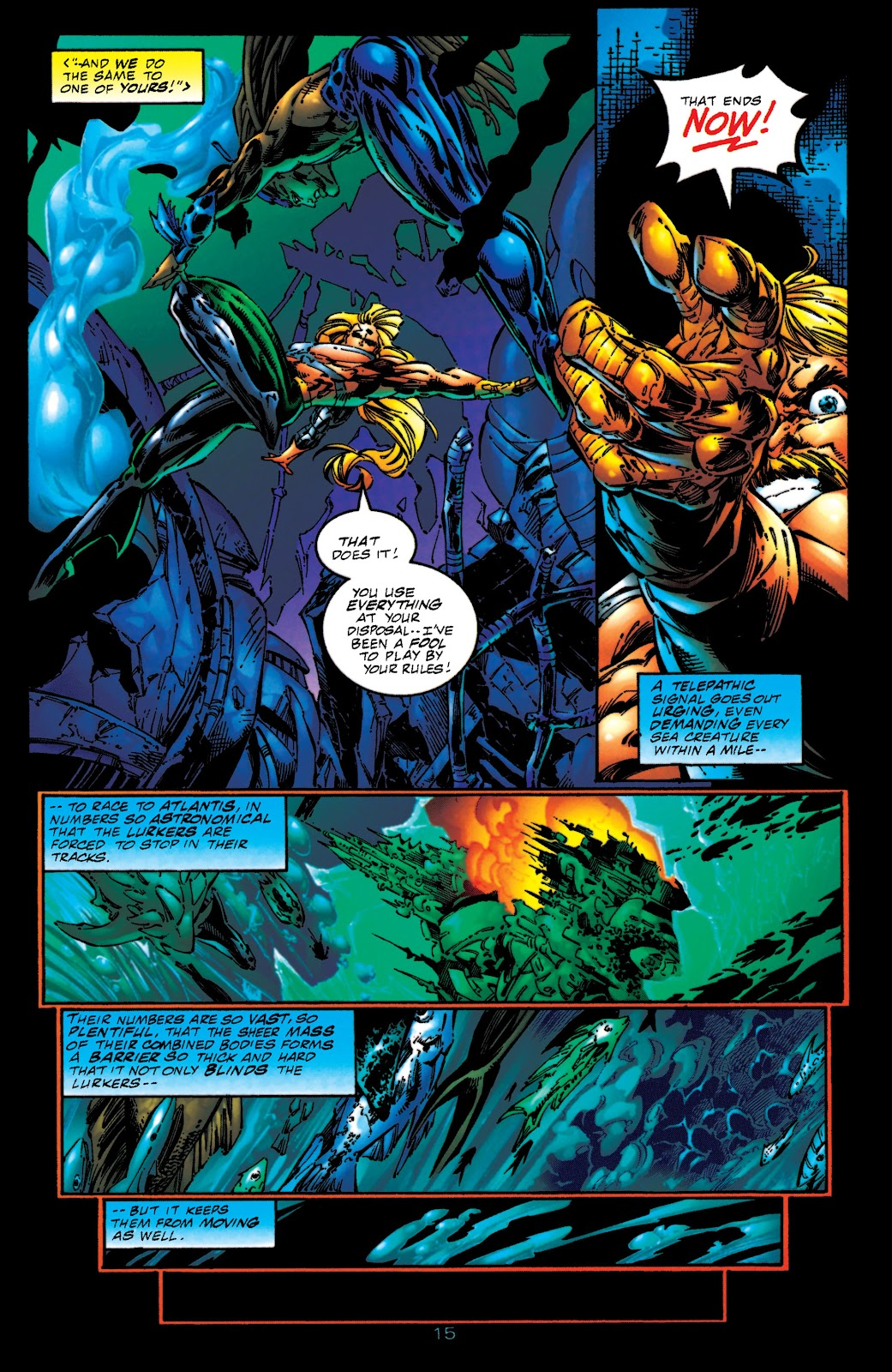 Aquaman (1994) Issue #51 #57 - English 15