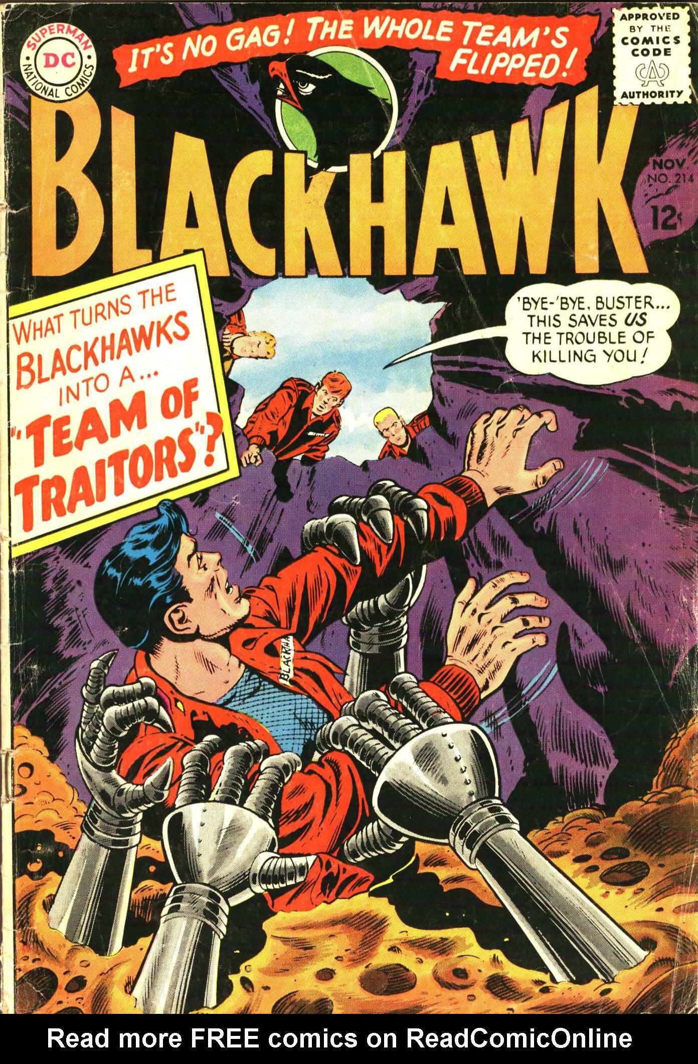 Blackhawk (1957) 214 Page 1