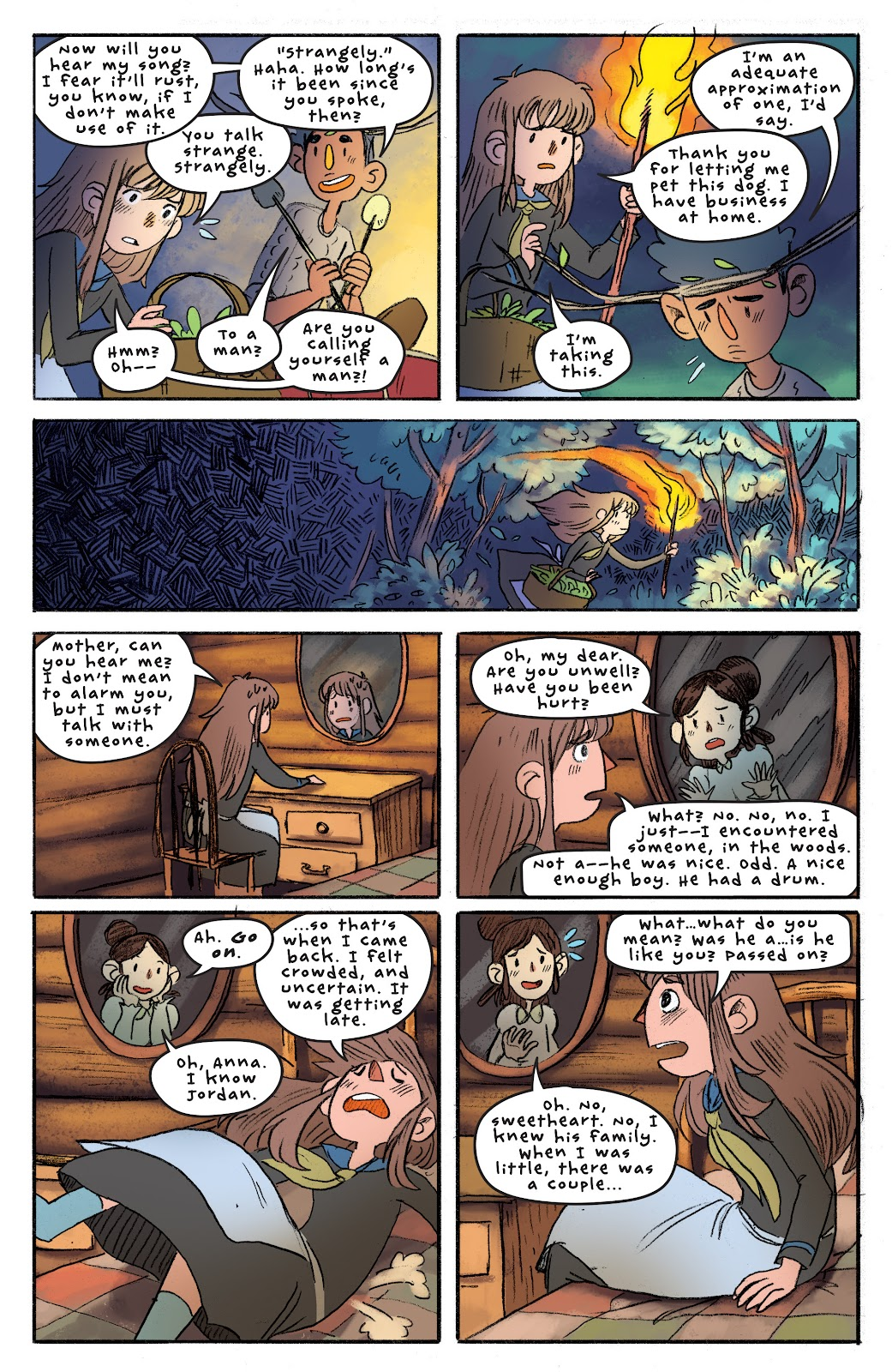 Over the Garden Wall (2016) Issue #4 #4 - English 18
