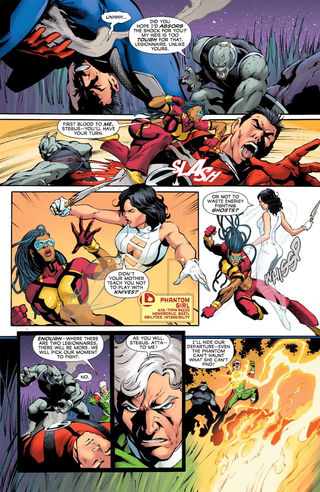 Legion of Super-Heroes (2010) Issue #12 #13 - English 5