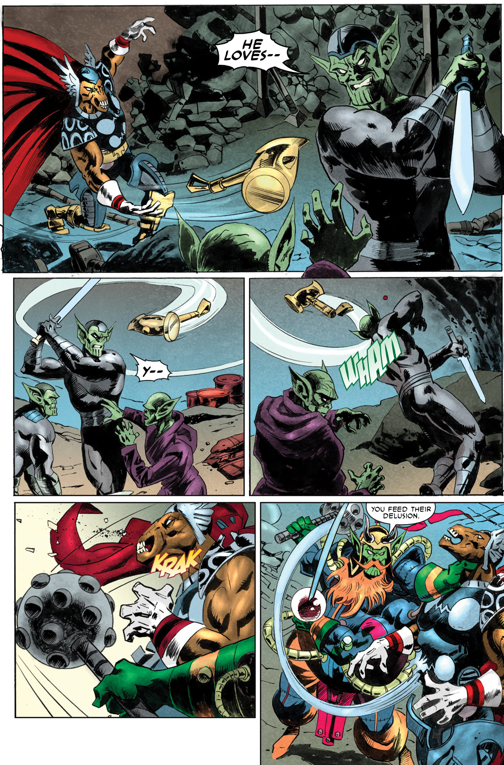 Read online Secret Invasion Aftermath: Beta Ray Bill - The Green of Eden comic -  Issue # Full - 26