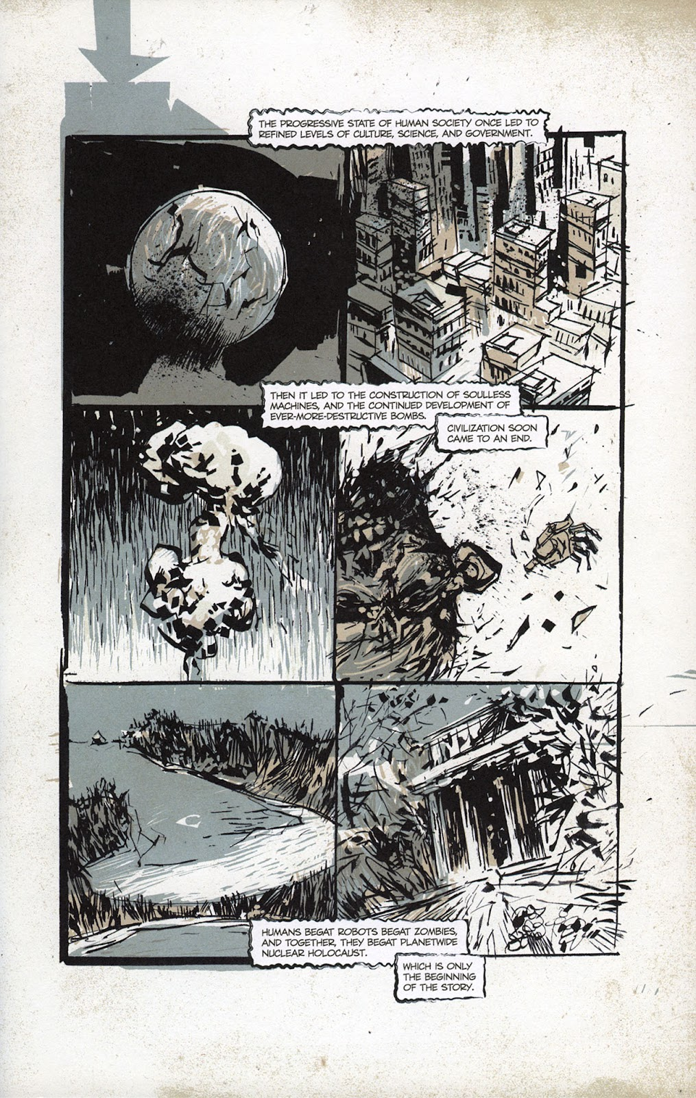 Zombies vs. Robots vs. Amazons Issue #1 Page 3