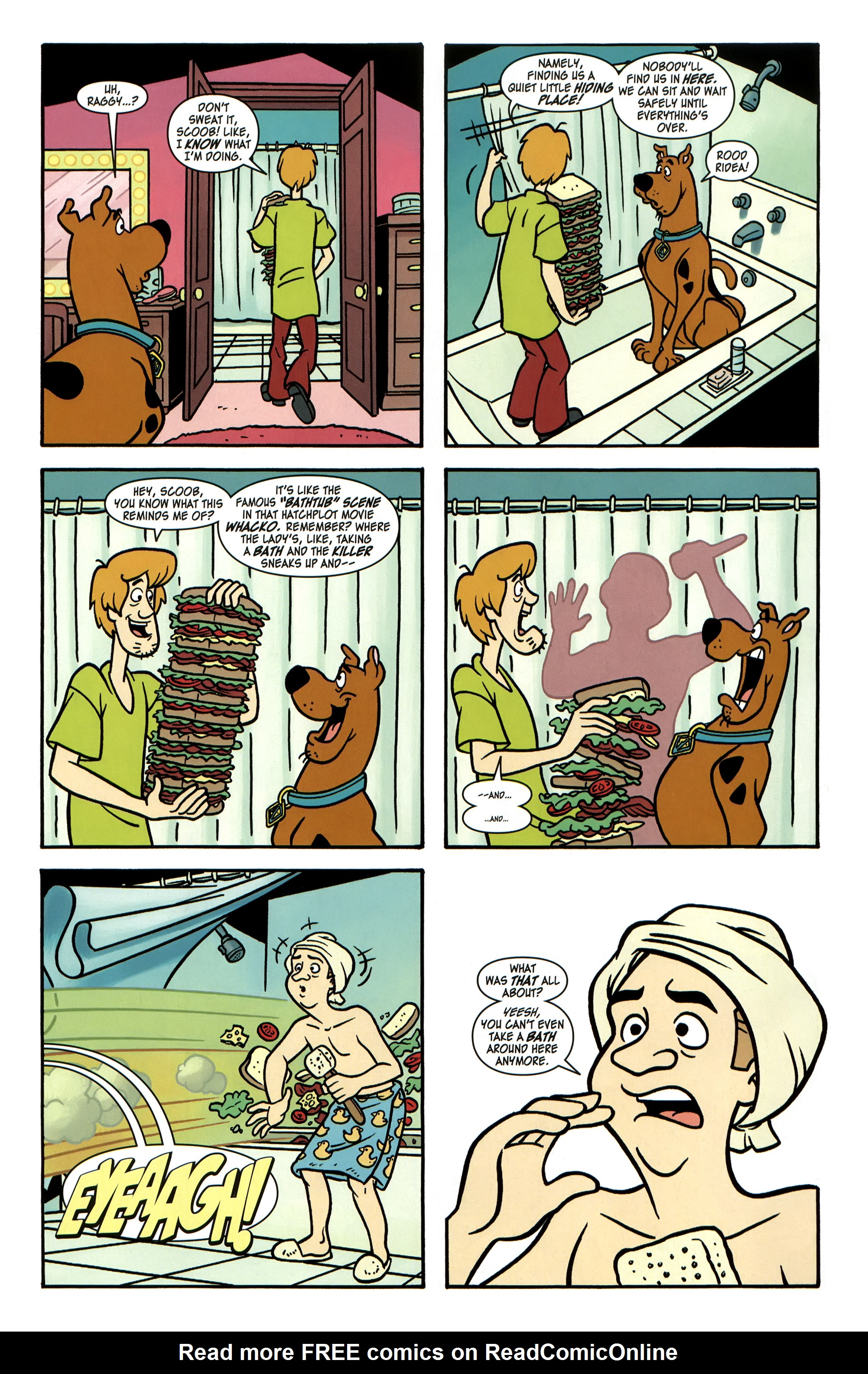 Read online Scooby-Doo: Where Are You? comic -  Issue #32 - 10
