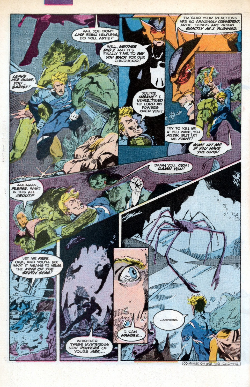 Aquaman (1986) Issue #3 #3 - English 6