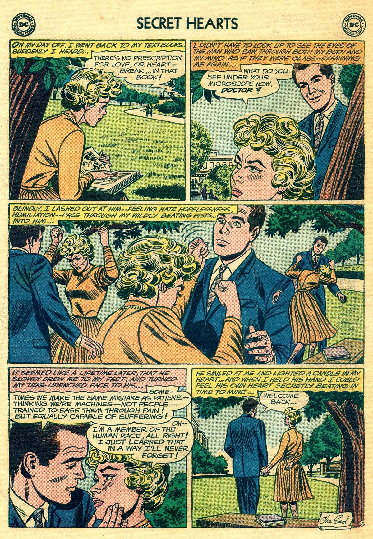 Read online Secret Hearts comic -  Issue #81 - 34