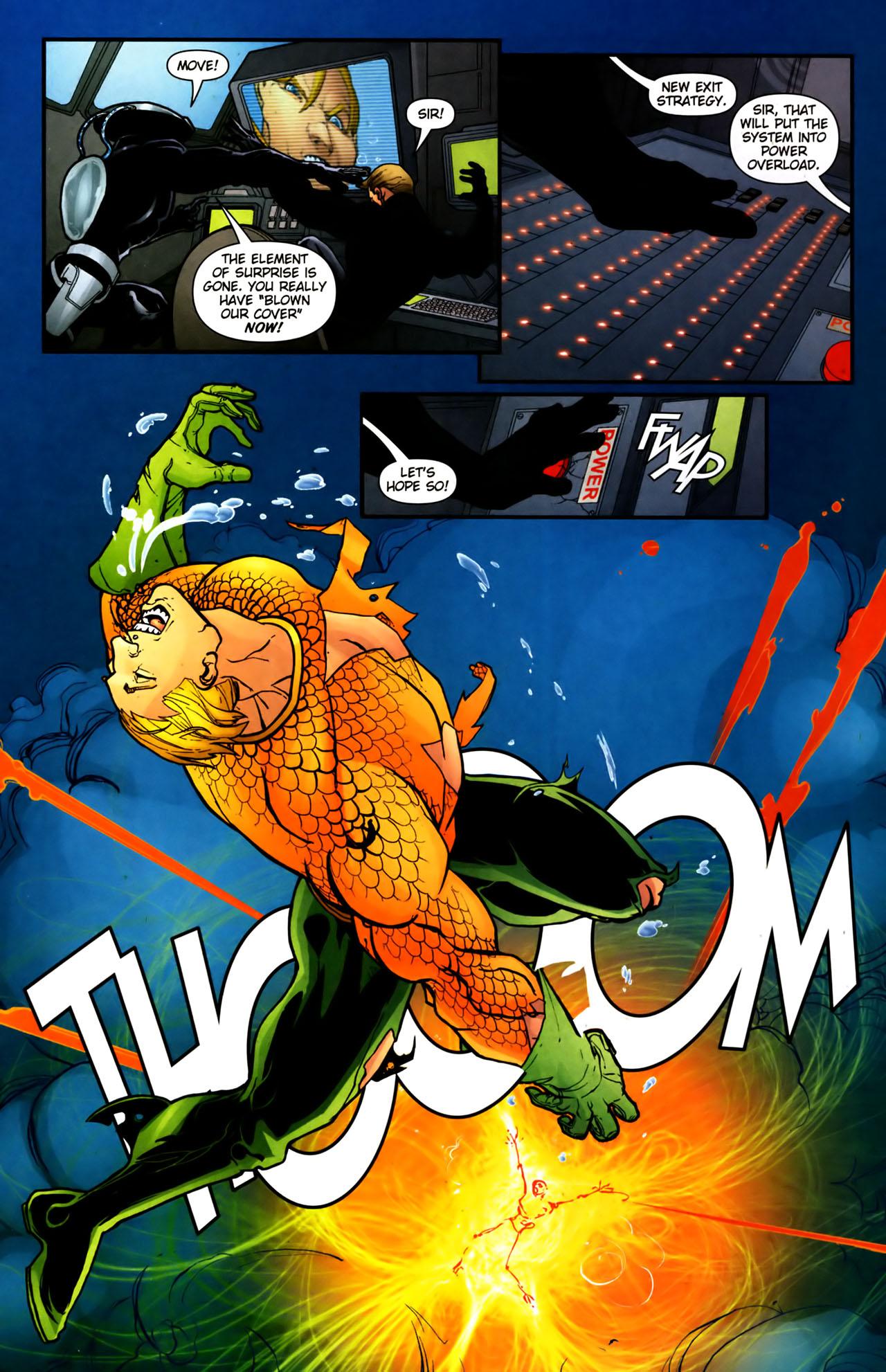 Read online Aquaman (2003) comic -  Issue #39 - 13
