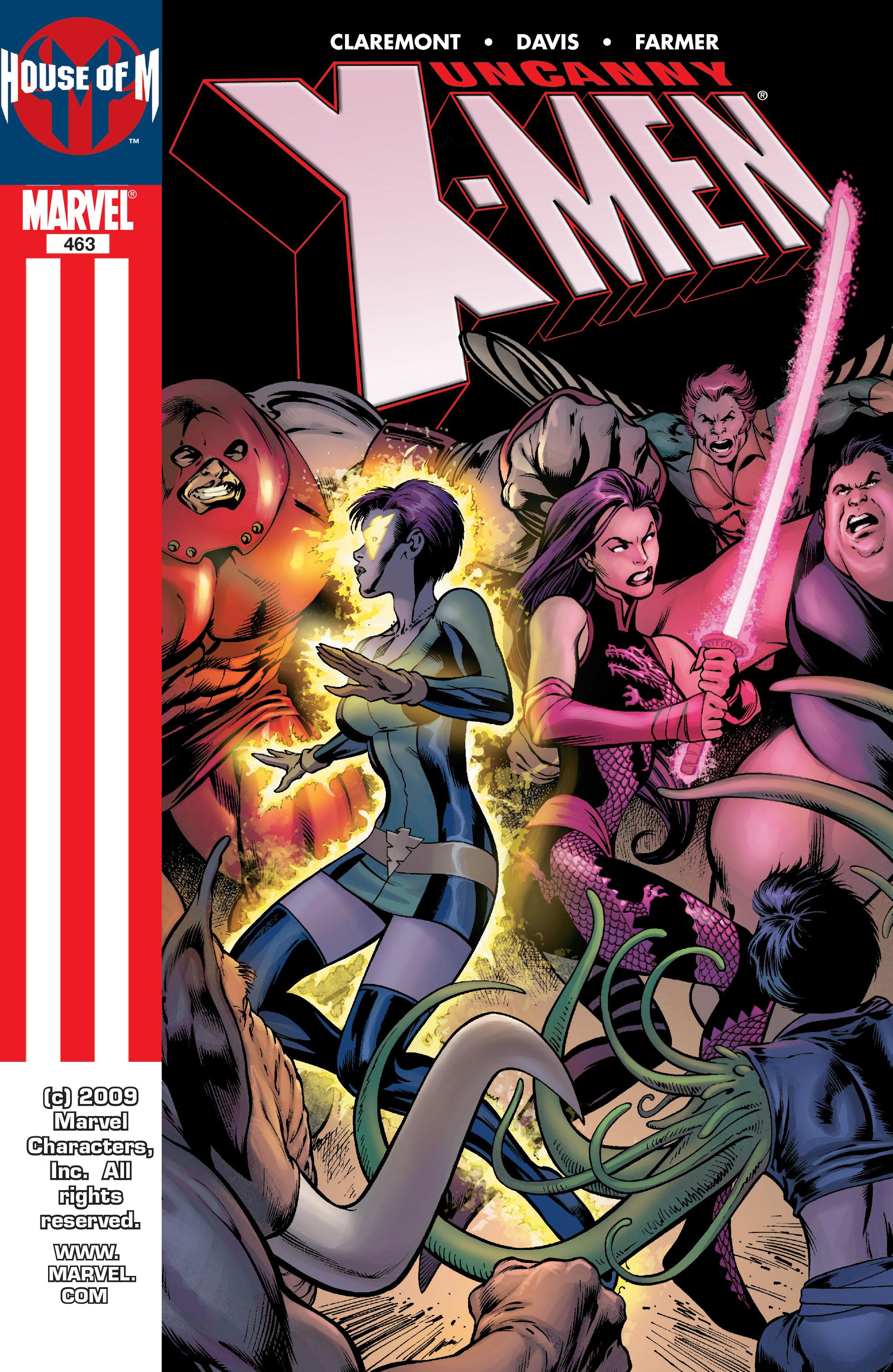 Uncanny X-Men (1963) 463 Page 1