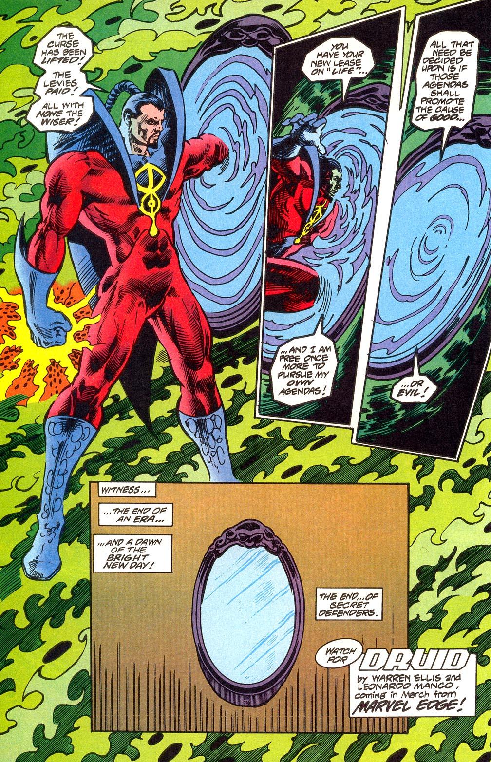 Read online Secret Defenders comic -  Issue #25 - 38