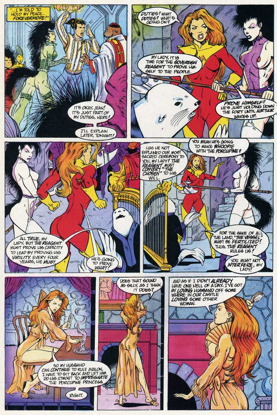 Read online Elementals Sex Special comic -  Issue #4 - 16