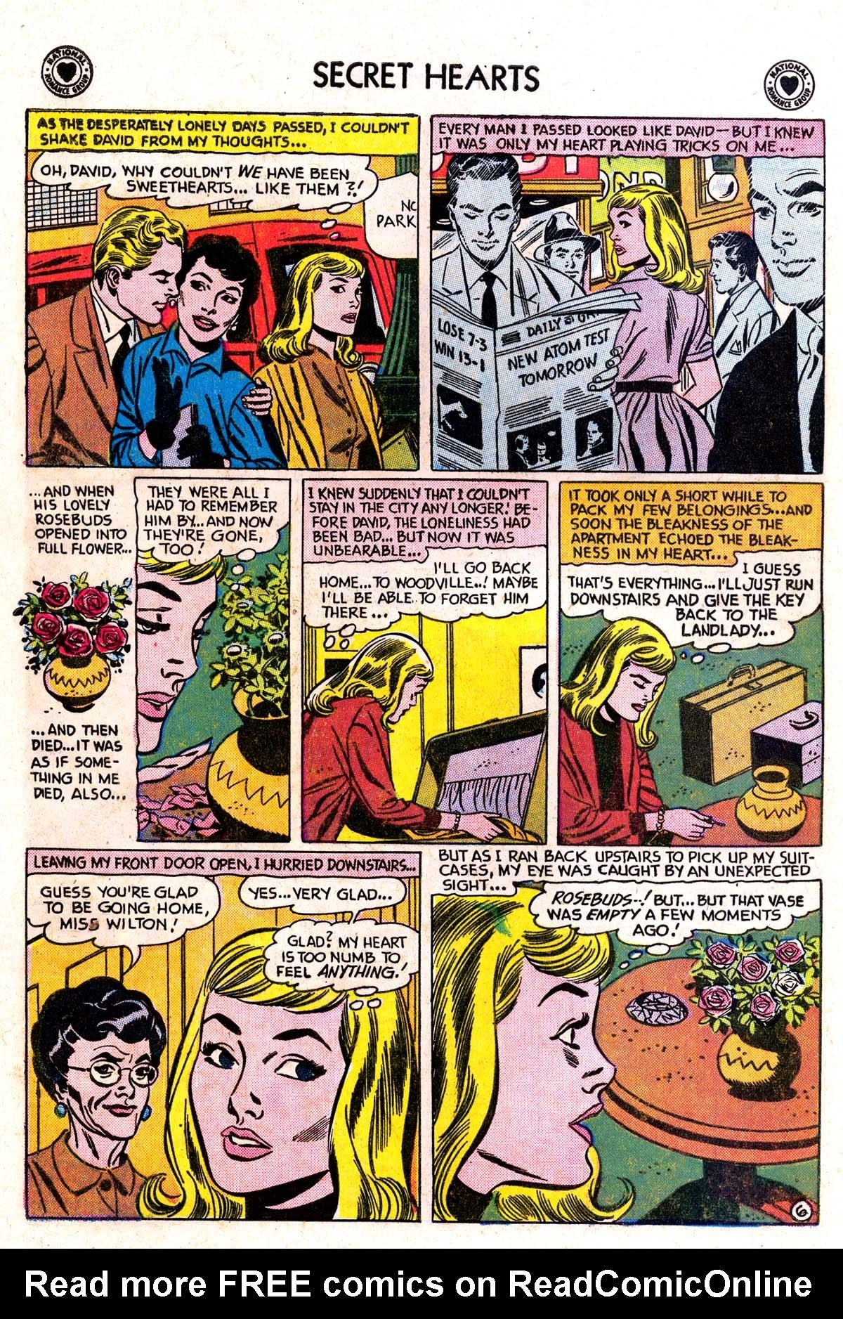 Read online Secret Hearts comic -  Issue #42 - 8