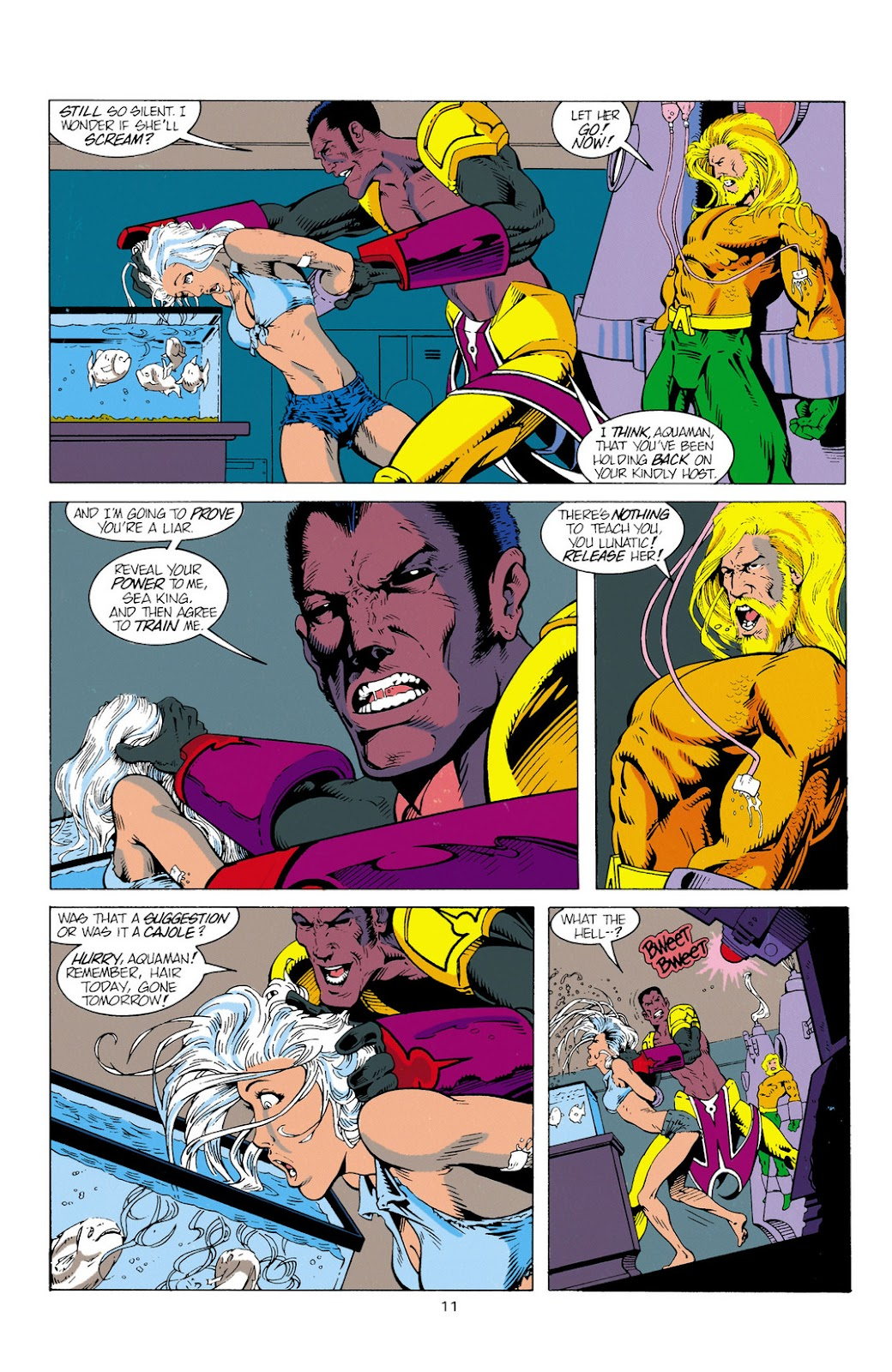 Aquaman (1994) Issue #2 #8 - English 12