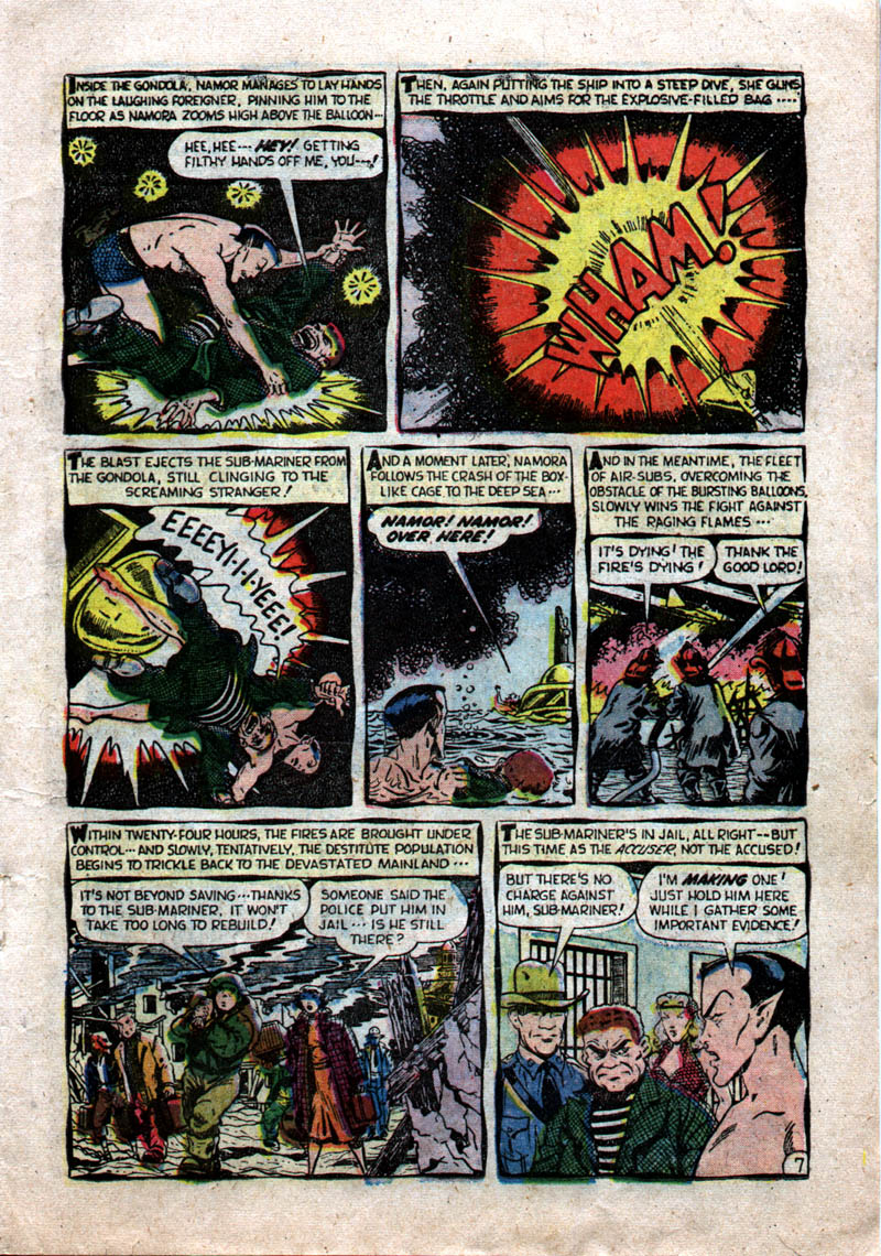 Sub-Mariner Comics #37 #37 - English 9