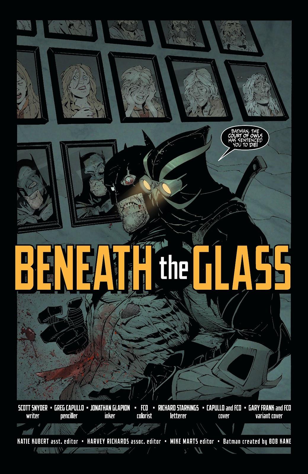Batman (2011) Issue #6 #21 - English 6