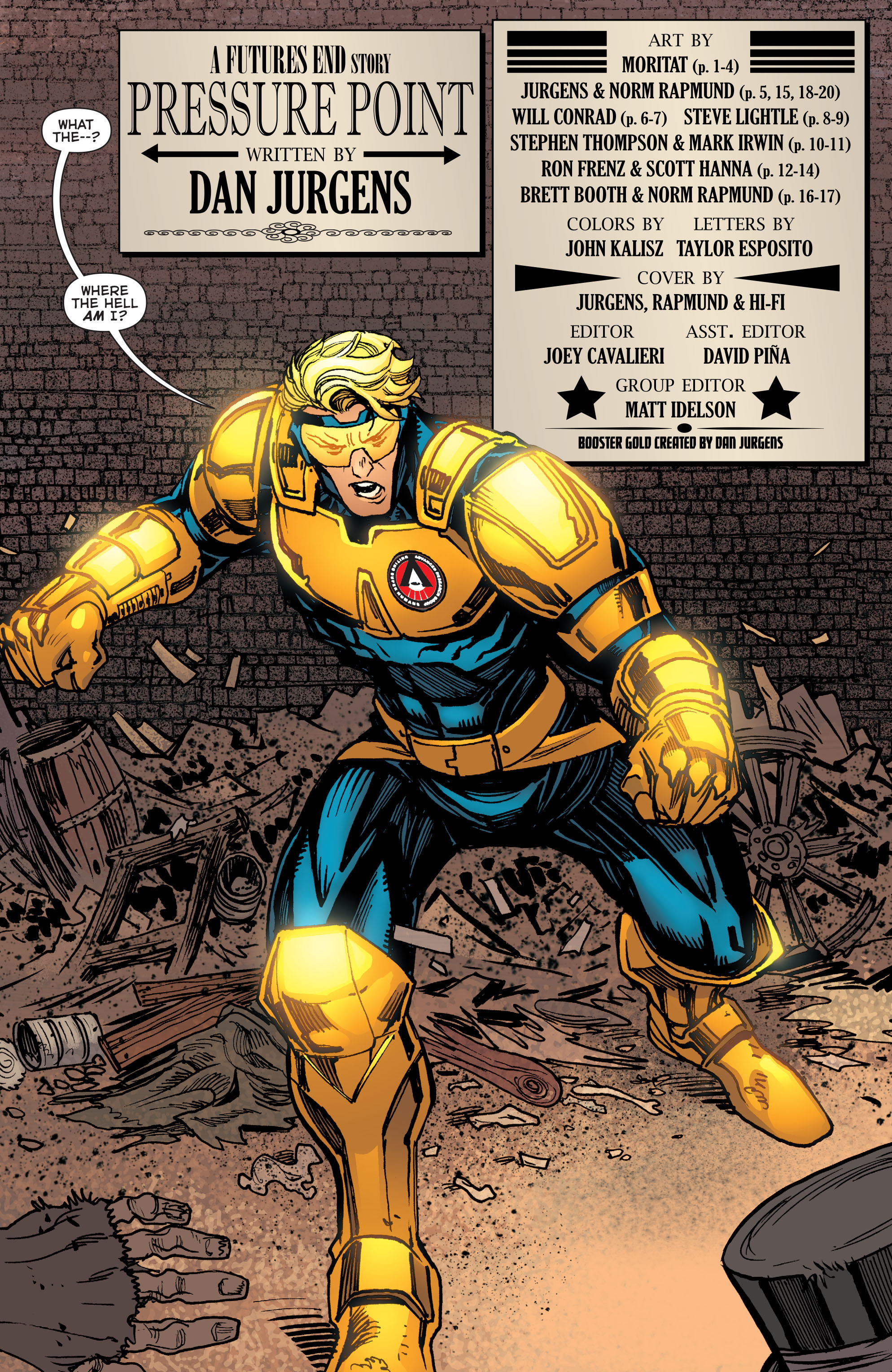 Read online Booster Gold: Futures End comic -  Issue # Full - 3