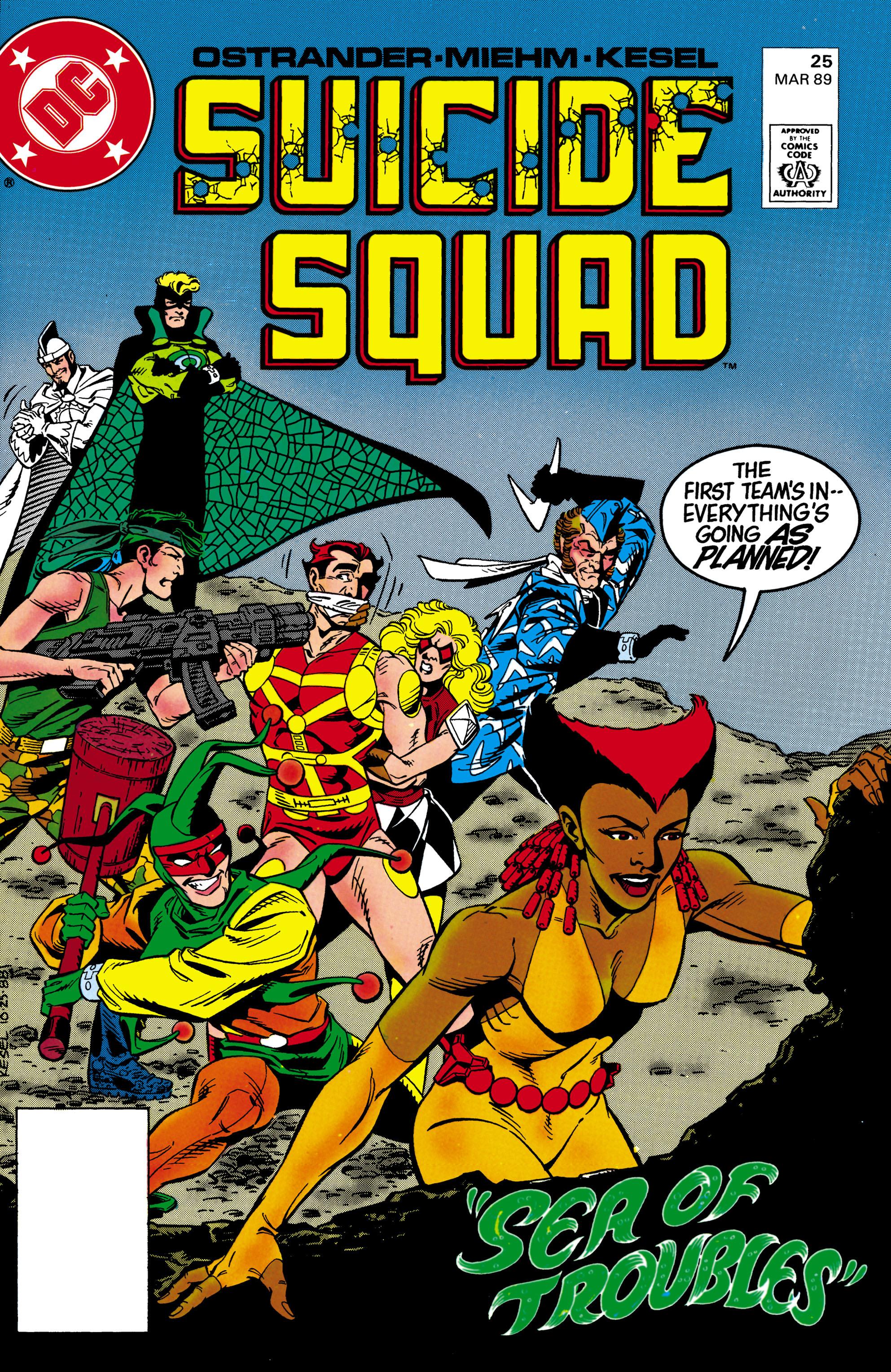 Suicide Squad (1987) 25 Page 1