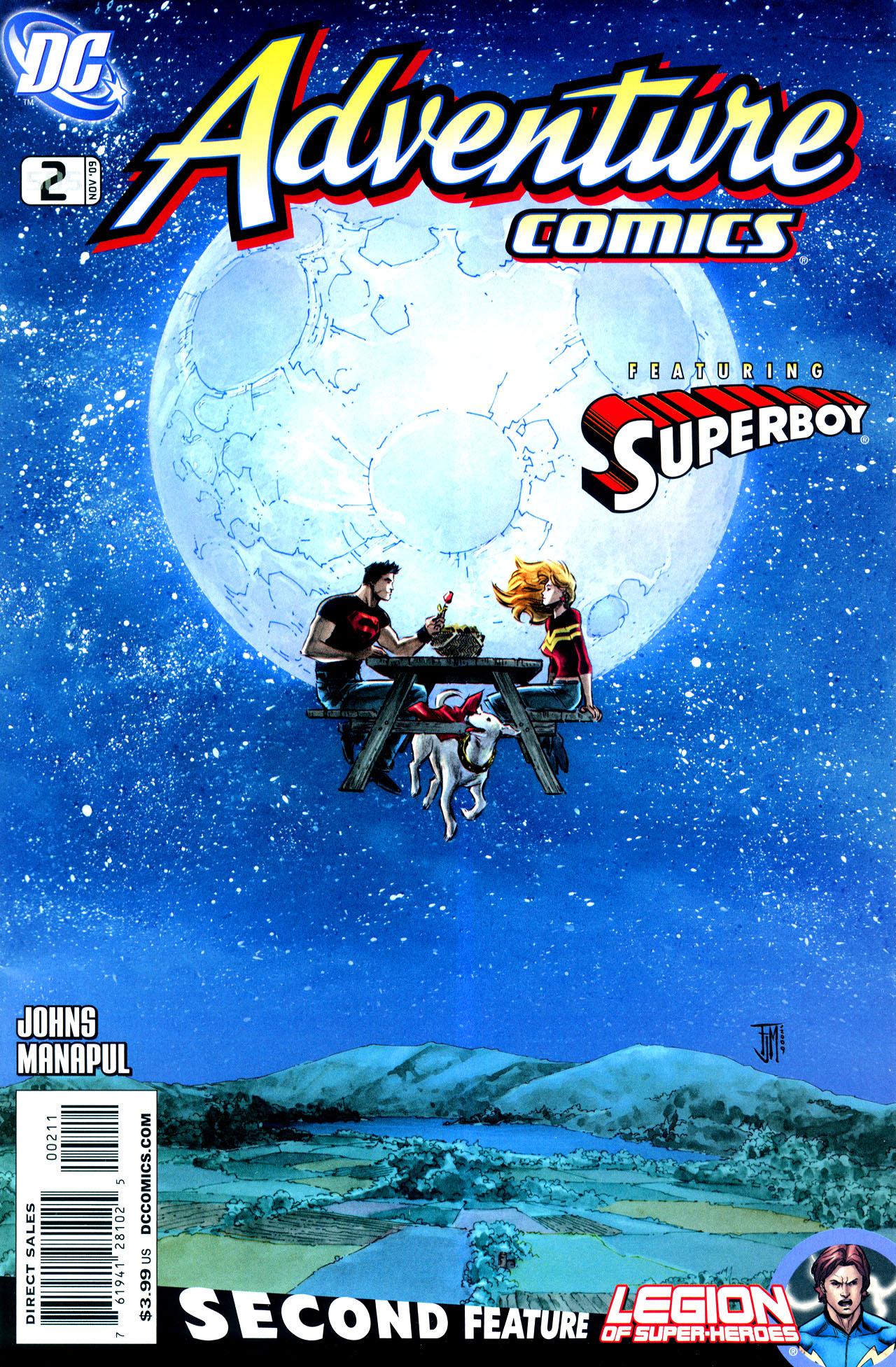 Adventure Comics (2009) 2 Page 1