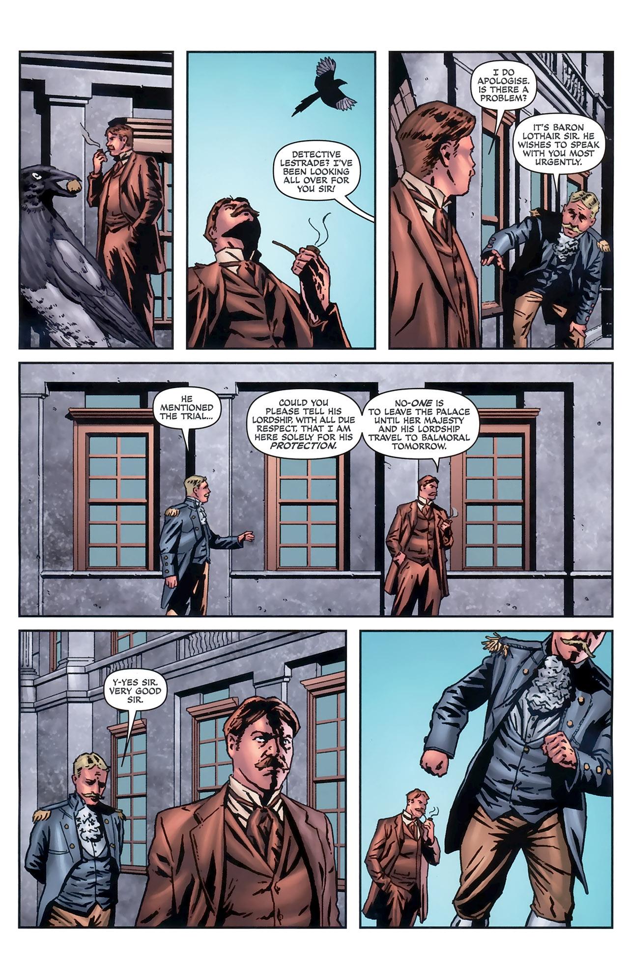 Read online Sherlock Holmes (2009) comic -  Issue #5 - 6
