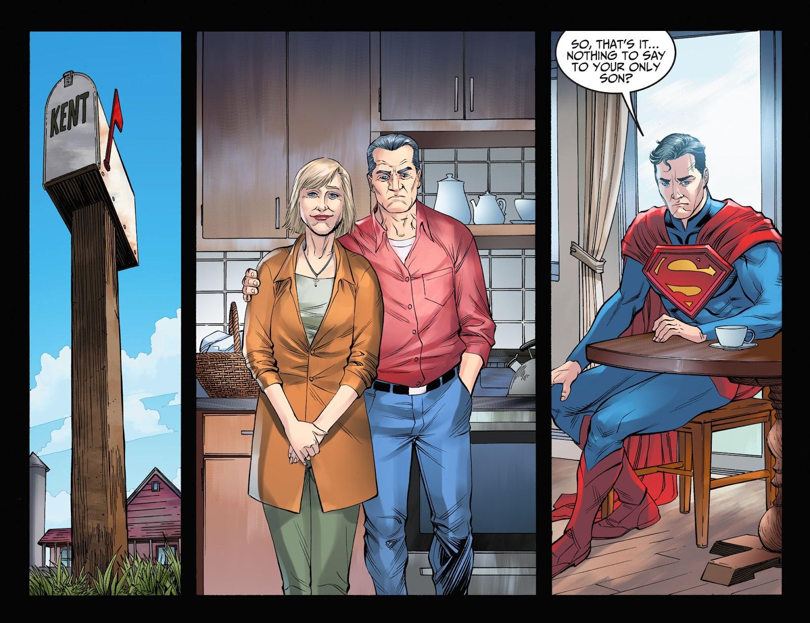 Injustice: Gods Among Us Year Four Issue #3 #4 - English 9