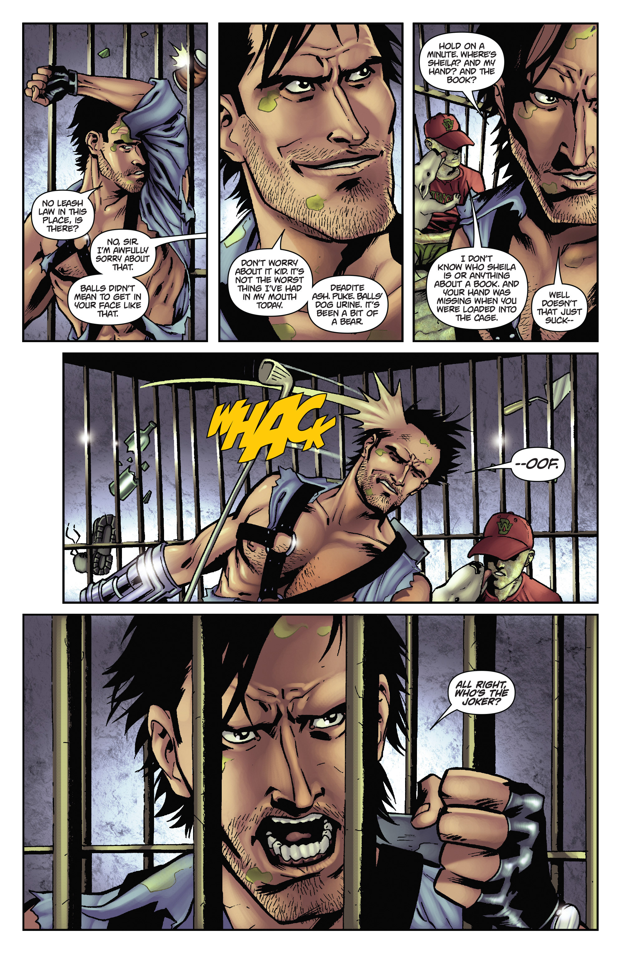 Army of Darkness: The Long Road Home TPB Page 44