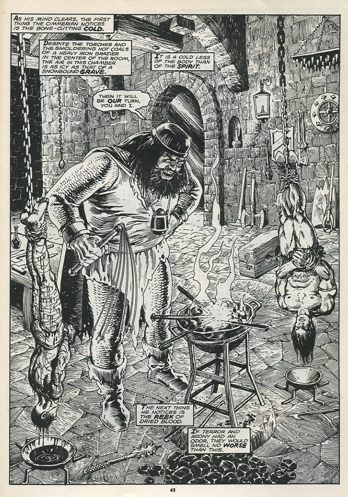 The Savage Sword Of Conan Issue #174 #175 - English 45
