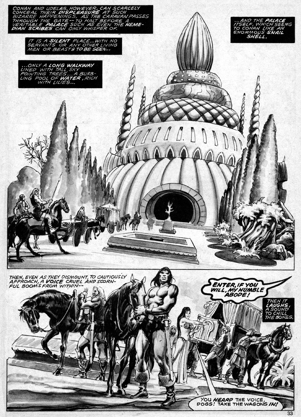 The Savage Sword Of Conan Issue #69 #70 - English 33