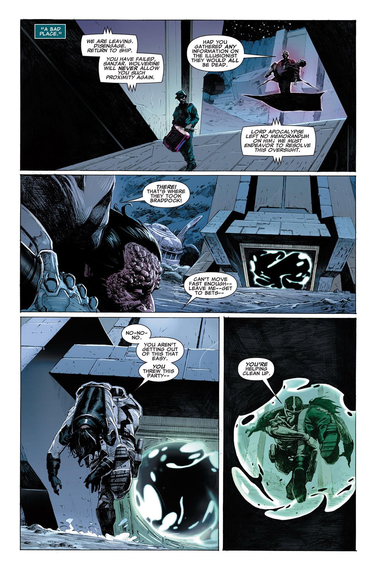 Uncanny X-Force (2010) #3 #35 - English 19