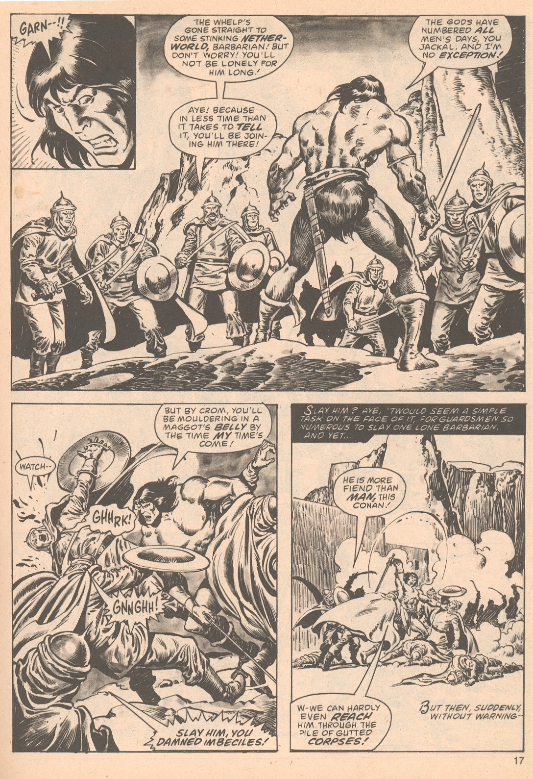 The Savage Sword Of Conan Issue #63 #64 - English 17