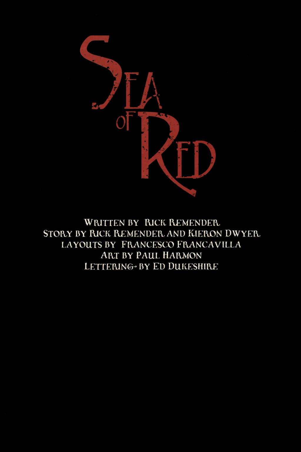Read online Sea of Red comic -  Issue #13 - 27