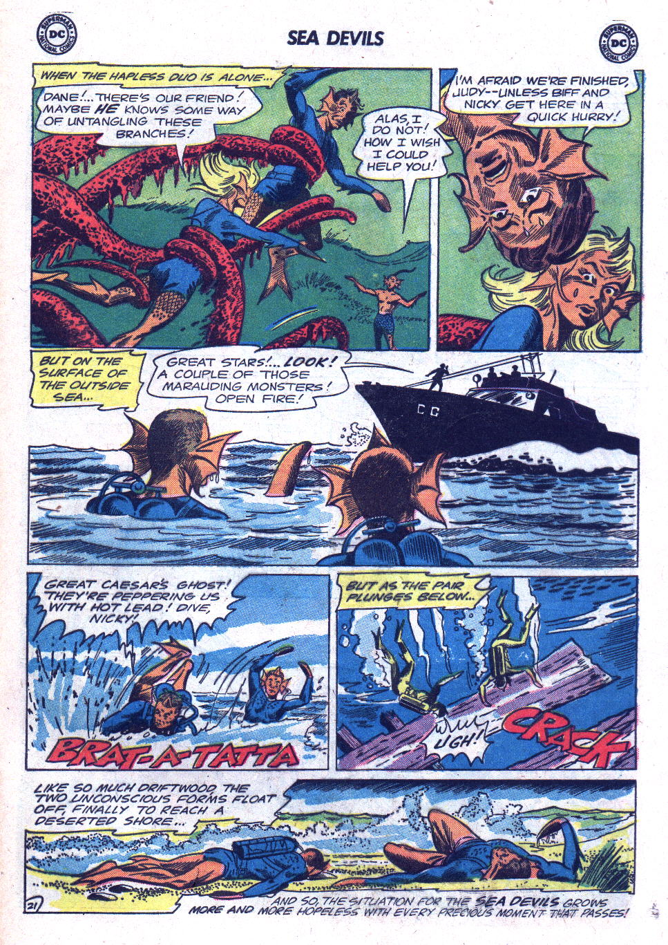 Read online Sea Devils comic -  Issue #18 - 29