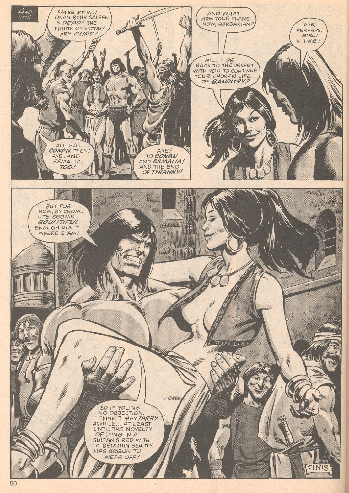 The Savage Sword Of Conan Issue #63 #64 - English 50