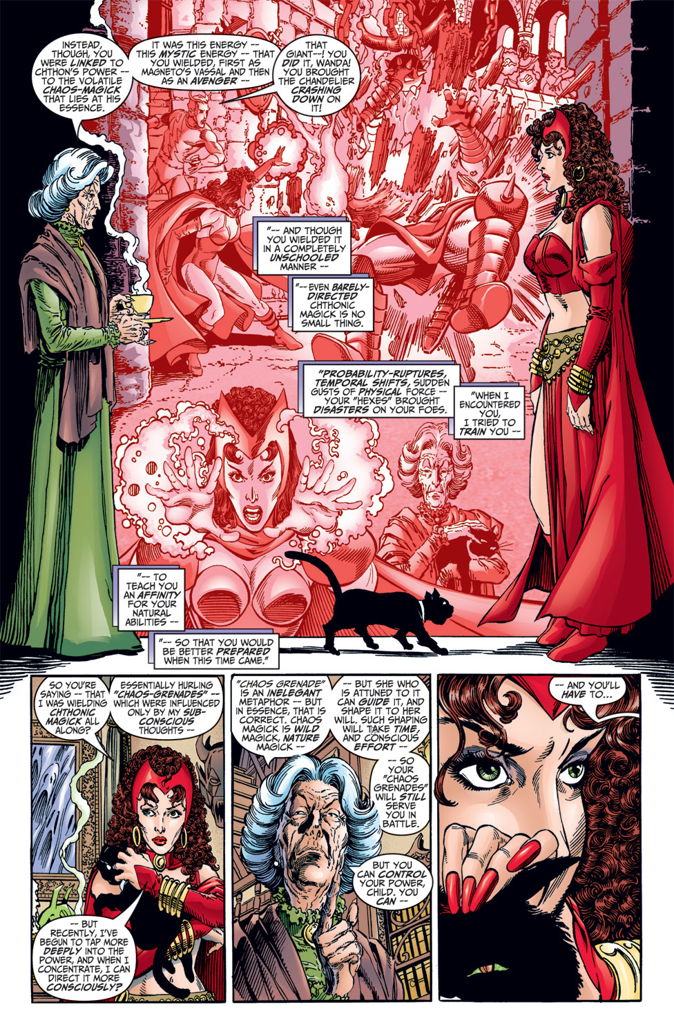 Read online Avengers (1998) comic -  Issue #10 - 14