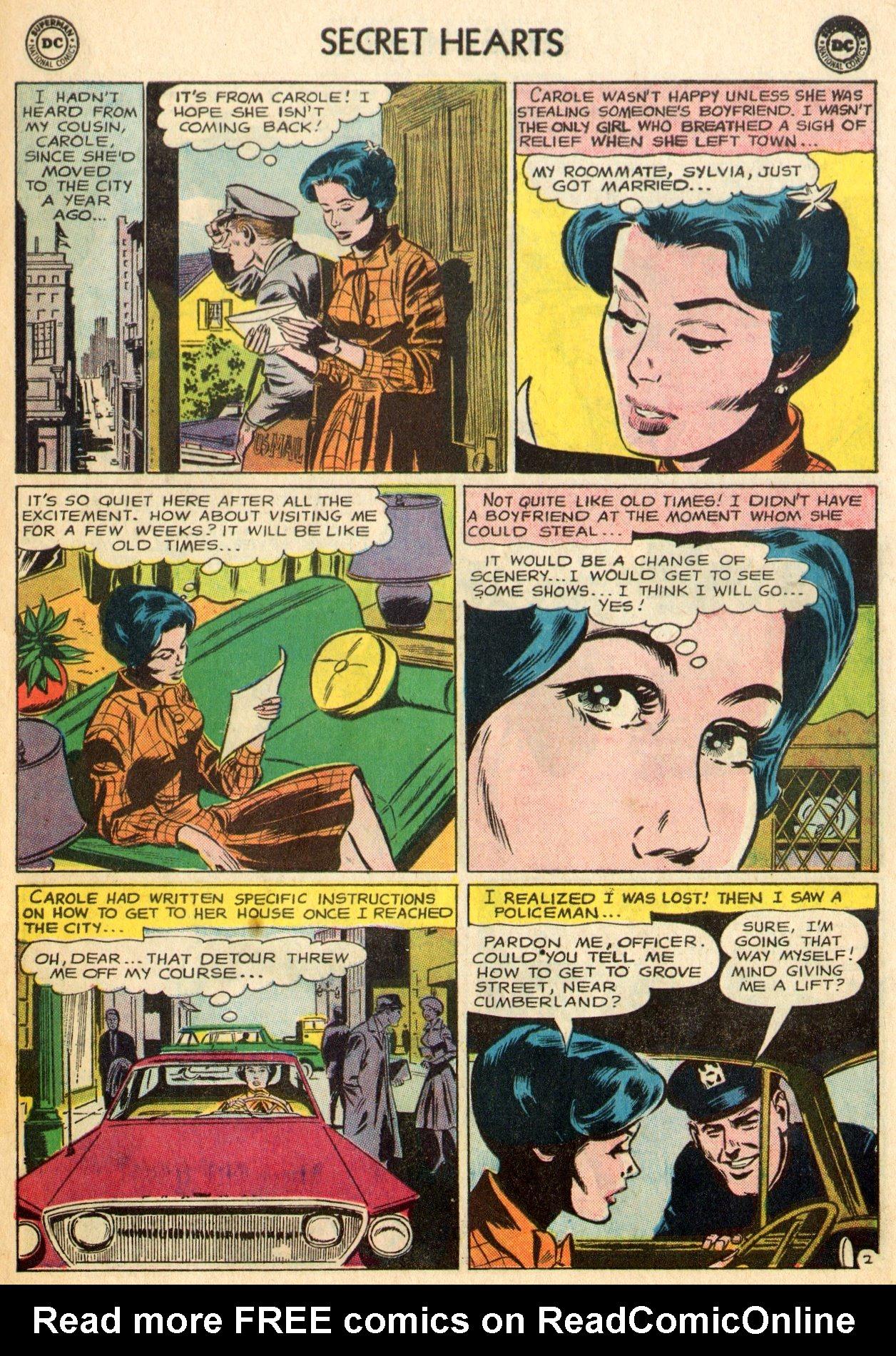 Read online Secret Hearts comic -  Issue #96 - 15