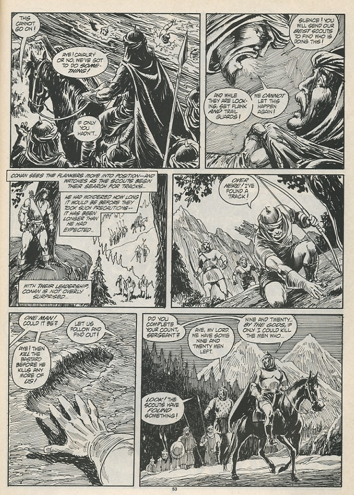 The Savage Sword Of Conan Issue #189 #190 - English 55