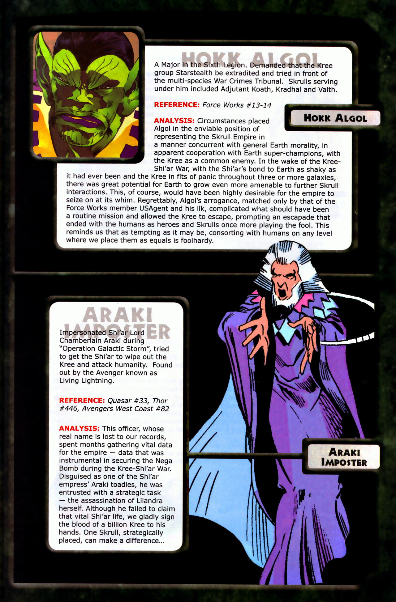 Read online Skrulls! comic -  Issue # Full - 7