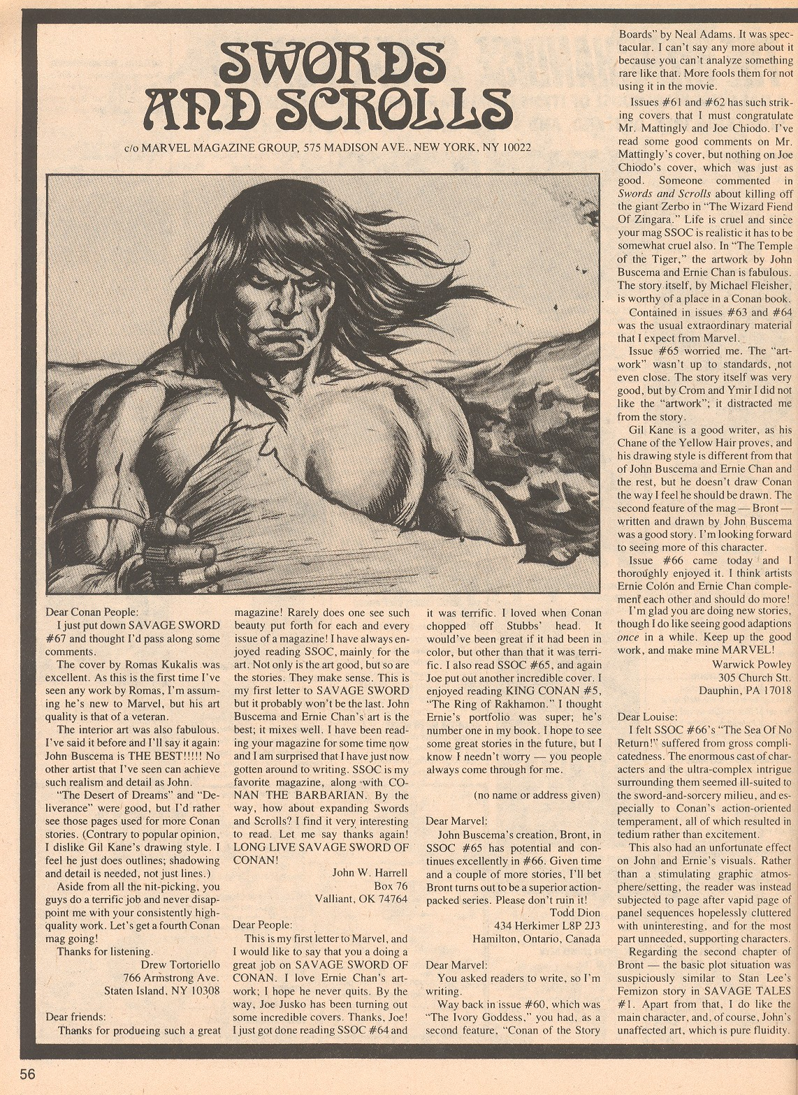 The Savage Sword Of Conan Issue #70 #71 - English 56