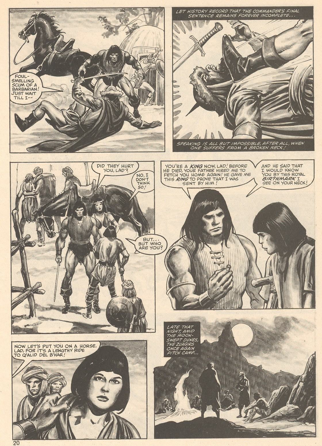 The Savage Sword Of Conan Issue #76 #77 - English 20