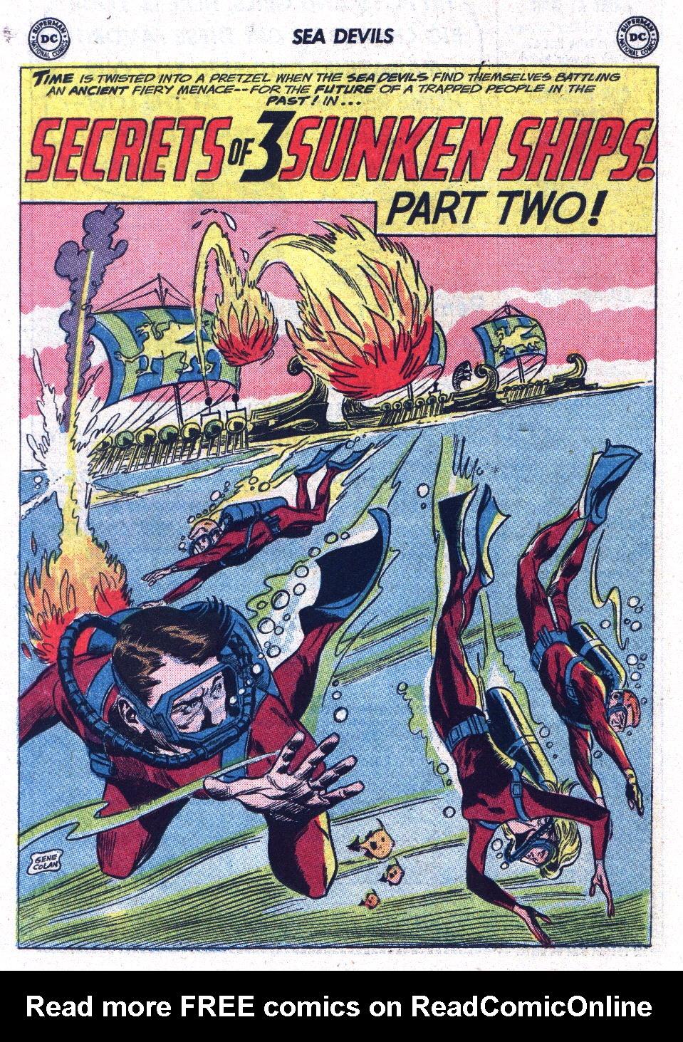 Read online Sea Devils comic -  Issue #13 - 14