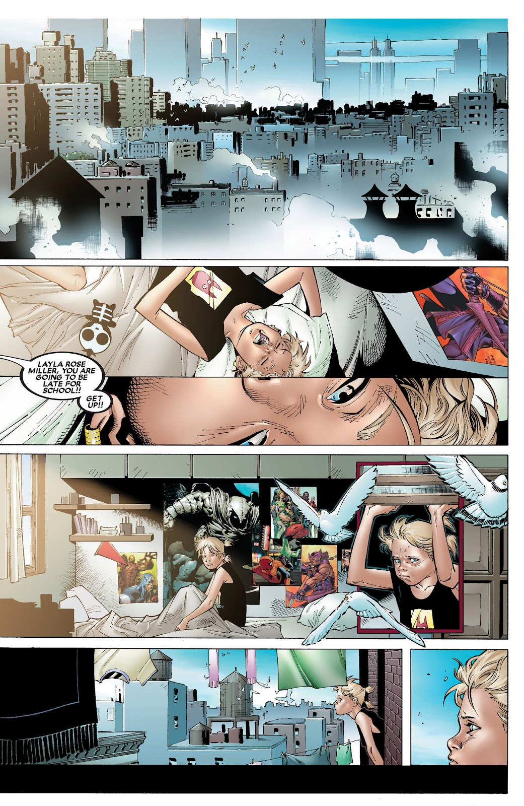 House of M (2005) Issue #8 #8 - English 4