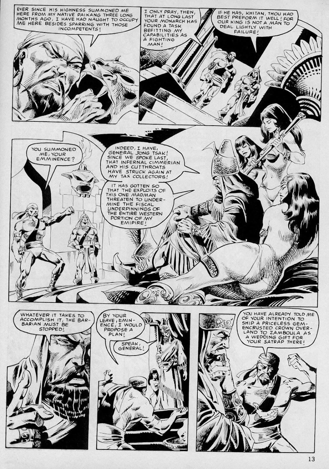 The Savage Sword Of Conan Issue #103 #104 - English 12