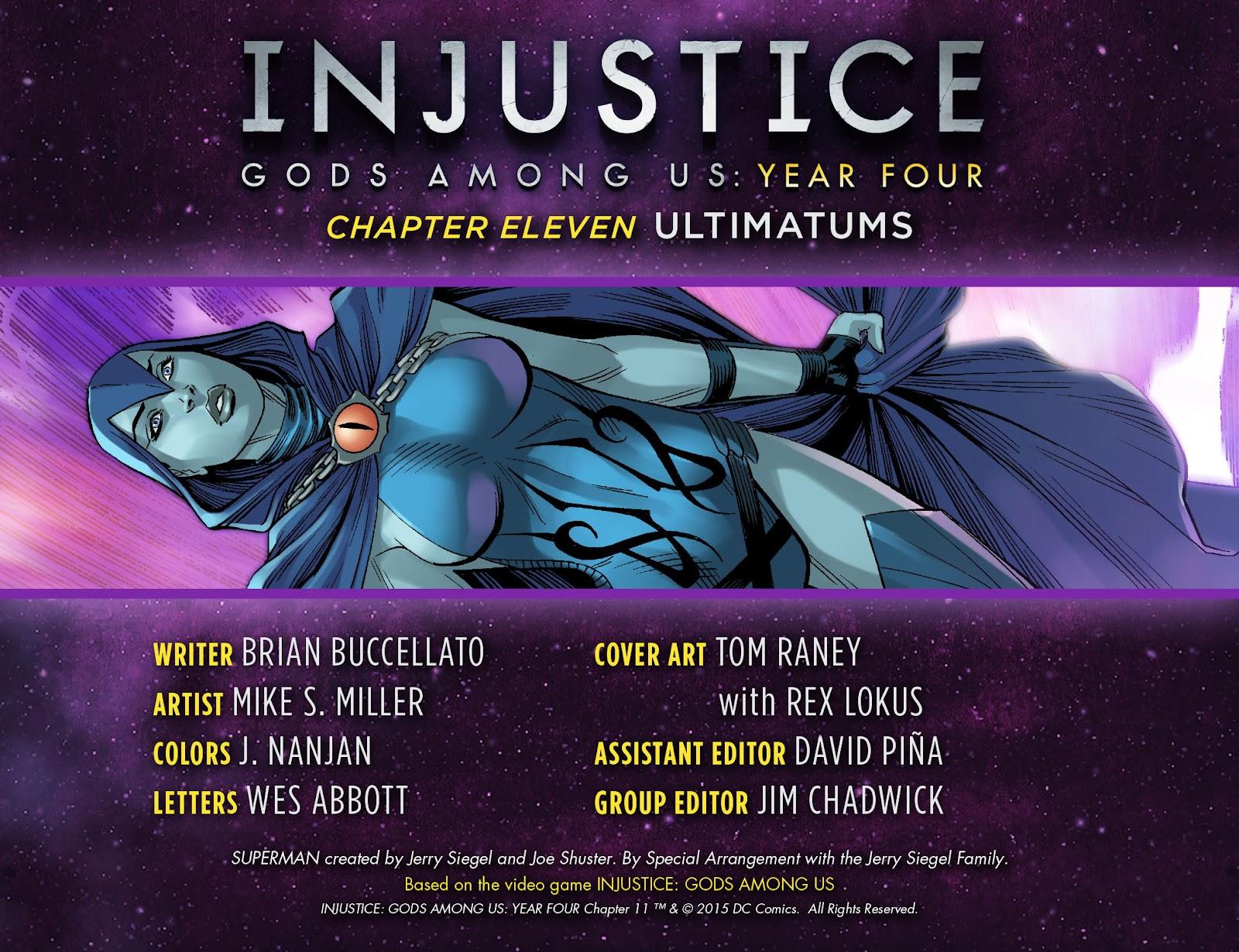 Injustice: Gods Among Us Year Four Issue #11 #12 - English 3