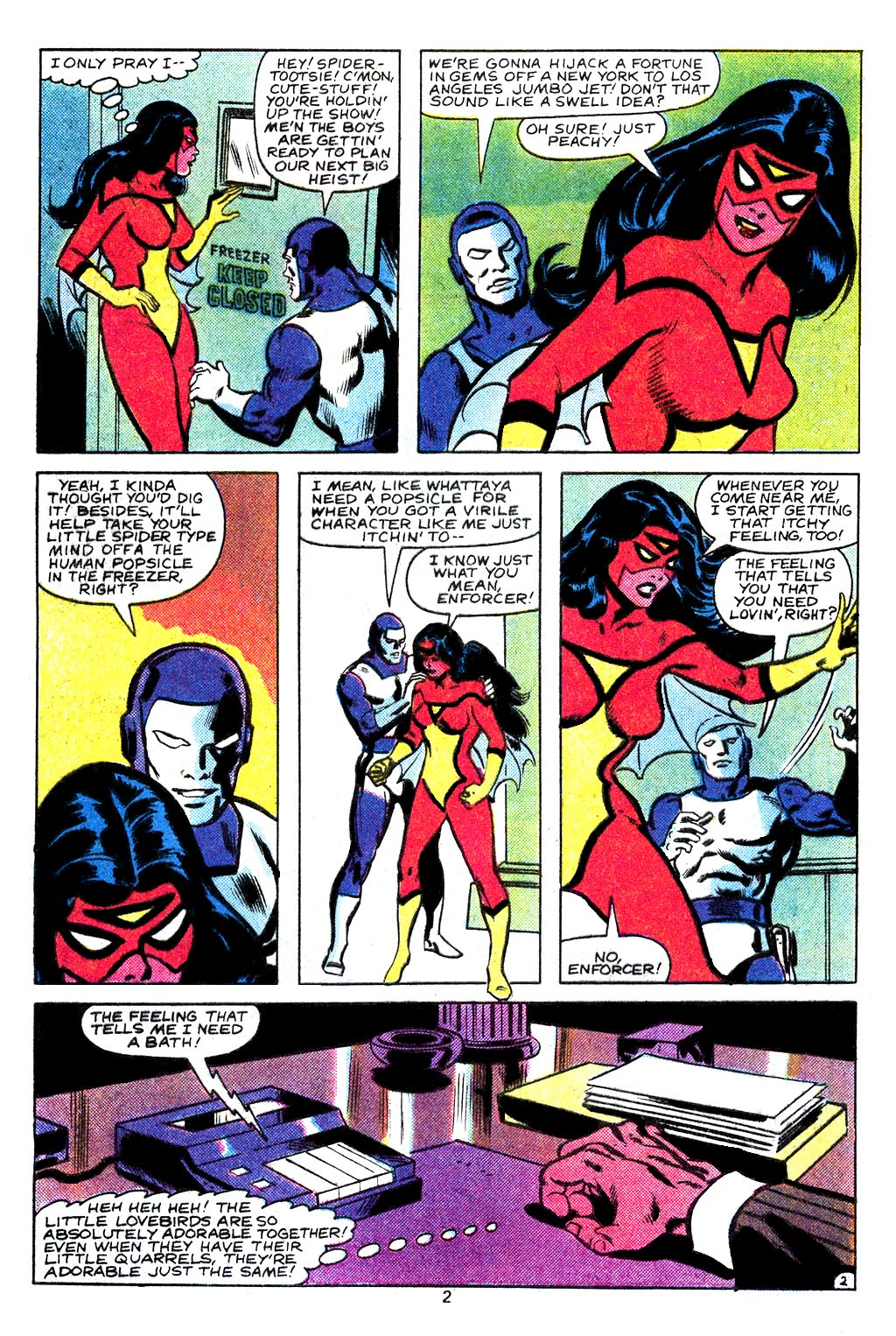 Spider-Woman (1978) Issue #29 #29 - English 3